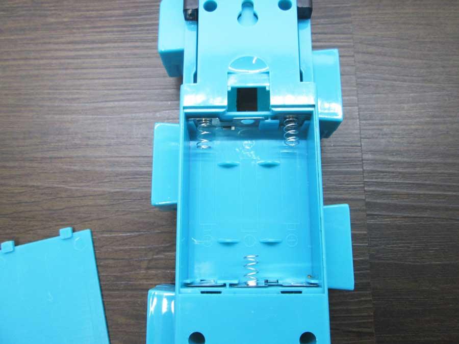 ダイソー 連結ランタン 本体 青色 単三乾電池1