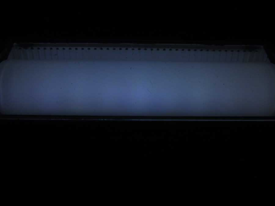 ダイソー 連結ランタン 本体 点灯