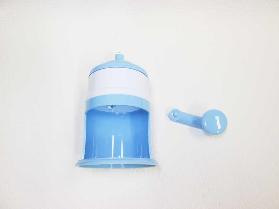 ダイソー 回して作るかき氷機 本体1