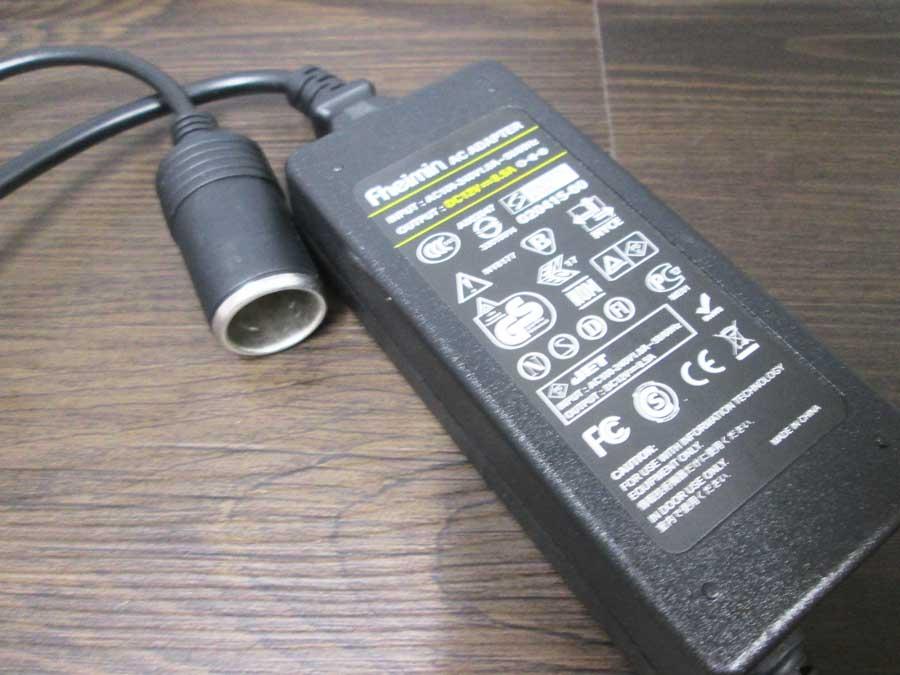 ダイソー USBタッチセンサーライト AC-DC変換1