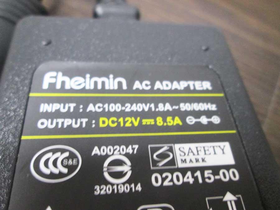 ダイソー USBタッチセンサーライト AC-DC変換2
