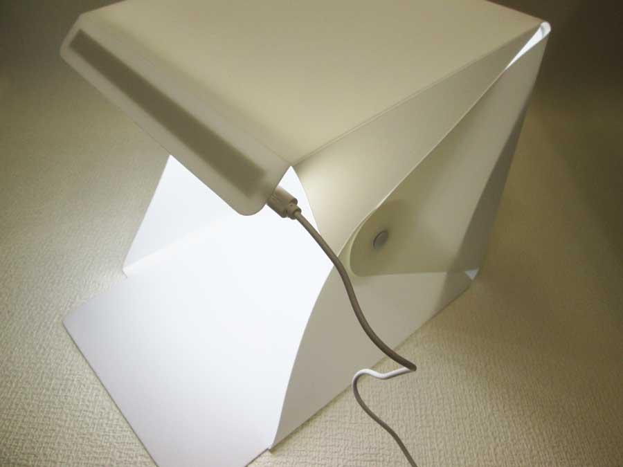 ミーツ LED付き撮影BOX 組立10