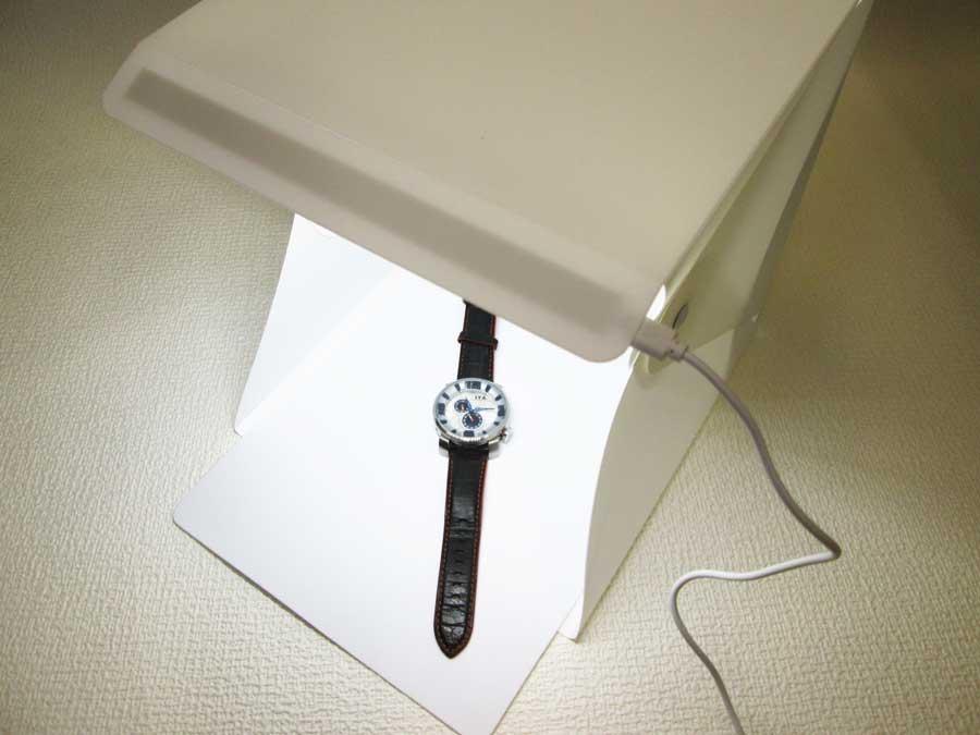 ミーツ LED付き撮影BOX 撮影1