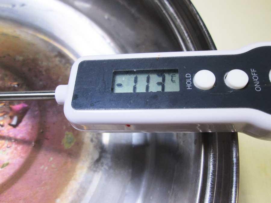ダイソー デジタルキッチン温度計 ドライアイス3