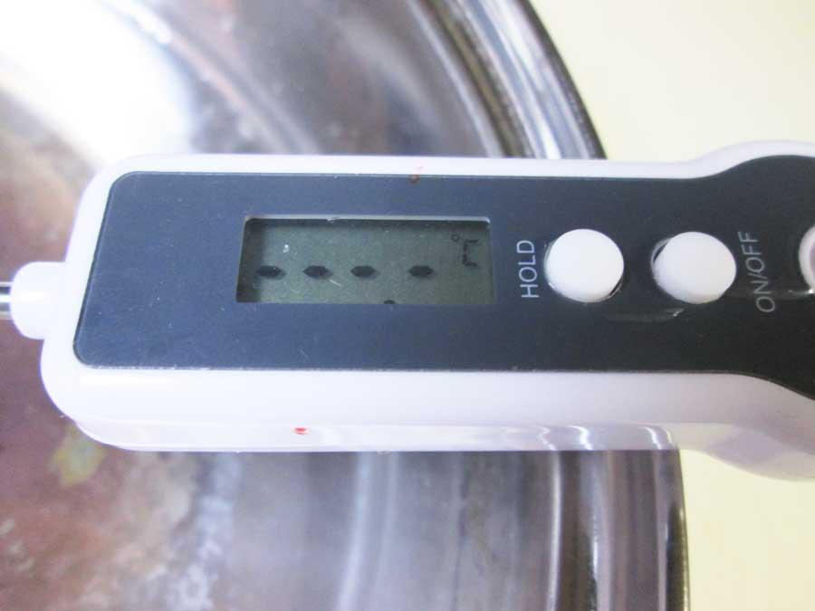 ダイソー デジタルキッチン温度計 ドライアイス7