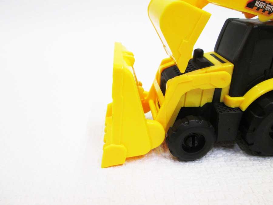 ダイソー 働く車 トラクターショベル 本体2