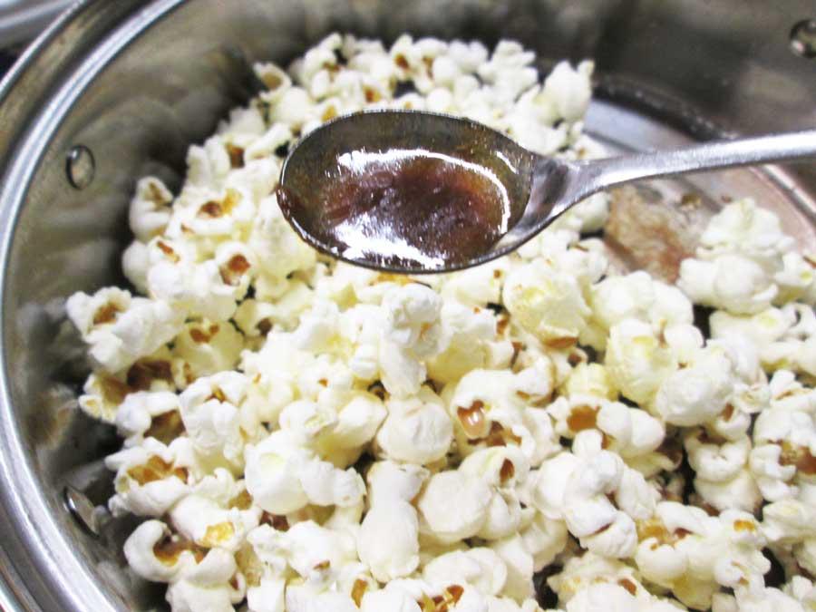 ダイソー ポップコーン原料豆 作り方23
