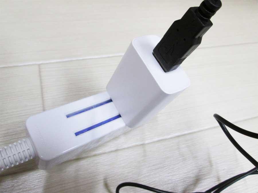 ダイソー USBブロアー アダプター2