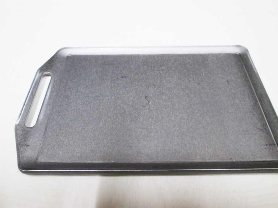 セリア ミニ鉄板 シーズニング1
