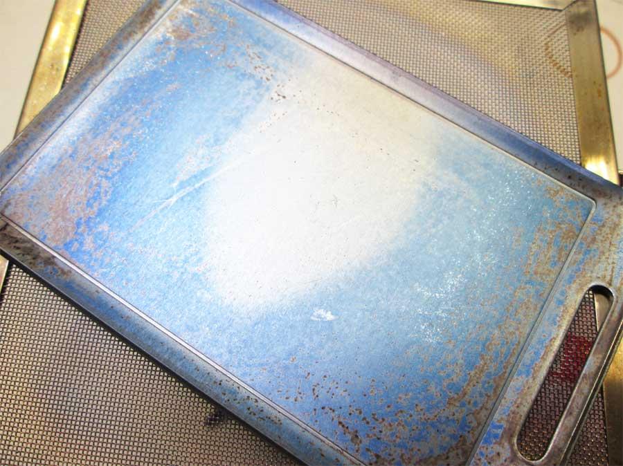 セリア ミニ鉄板 シーズニング8
