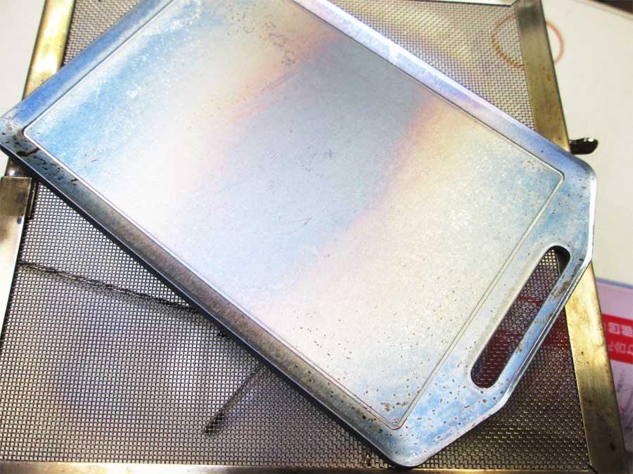 セリア ミニ鉄板 シーズニング9