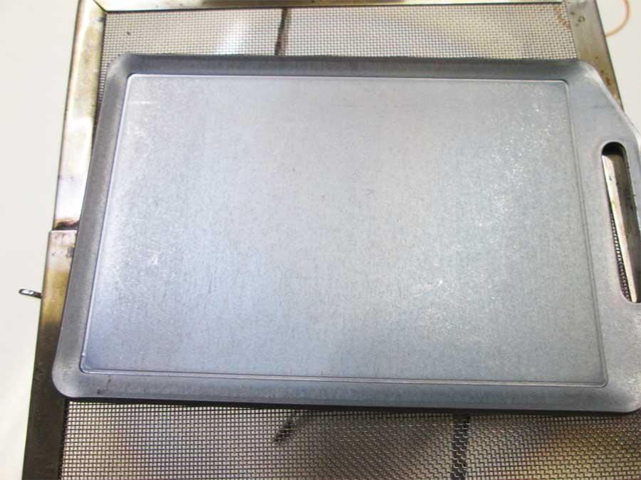 セリア ミニ鉄板 シーズニング11