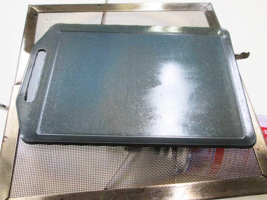 セリア ミニ鉄板 シーズニング15