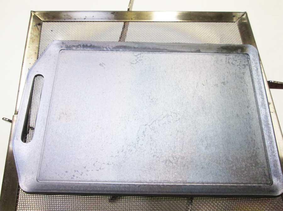 セリア ミニ鉄板 シーズニング17