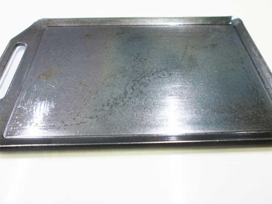 セリア ミニ鉄板 シーズニング18