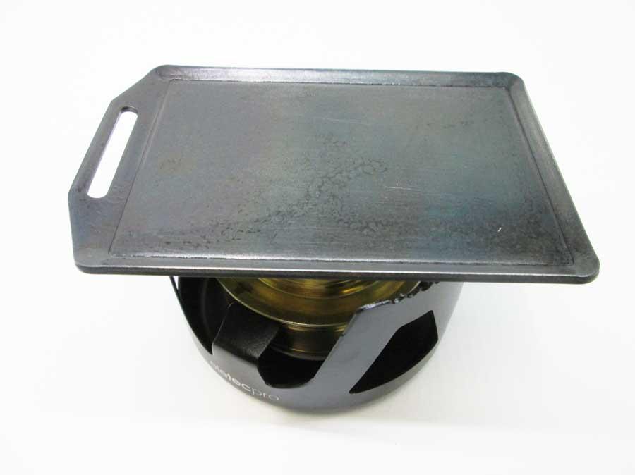 セリア ミニ鉄板 アルコールバーナー2