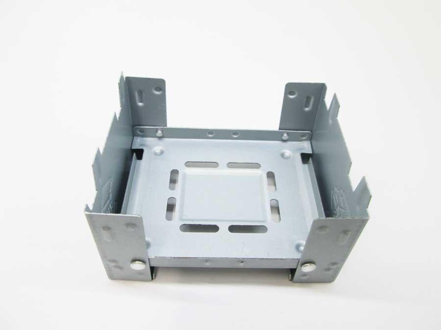 セリア ミニ鉄板 固形燃料ストーブ(ポケットストーブ)1