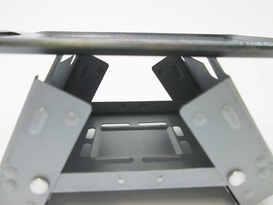 セリア ミニ鉄板 固形燃料ストーブ(ポケットストーブ)4