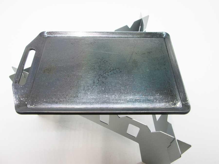 セリア ミニ鉄板 セリア クッカースタンド2