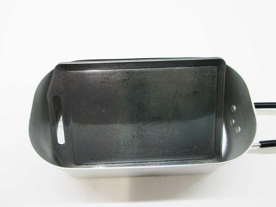 セリア ミニ鉄板 ダイソー メスティン1