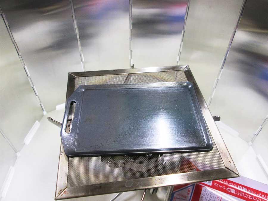 セリア ミニ鉄板 ステーキ4