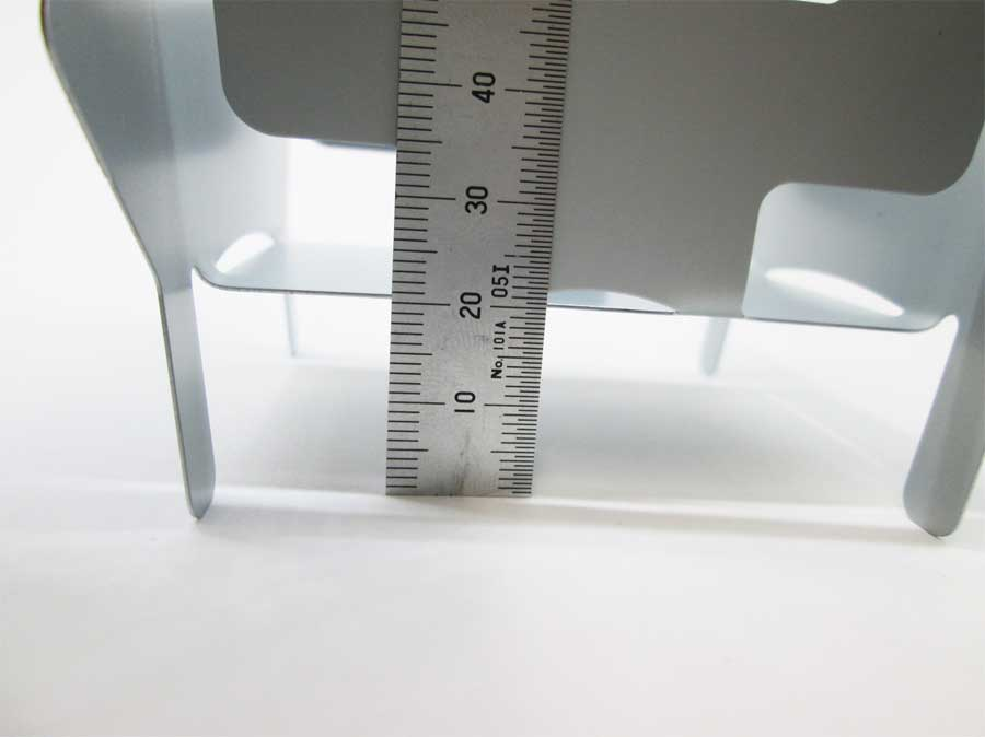 キャンドゥ 折りたたみ式ミニコンロ 本体12