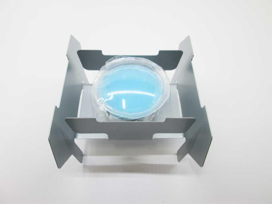 キャンドゥ 折りたたみ式ミニコンロ 固形燃料3