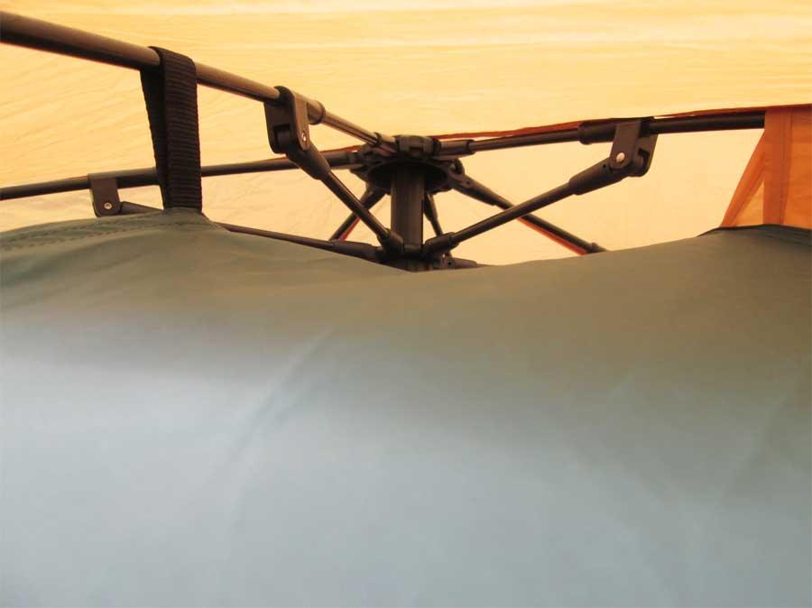 ダイソー 封筒型シュラフ 寝袋 テント3