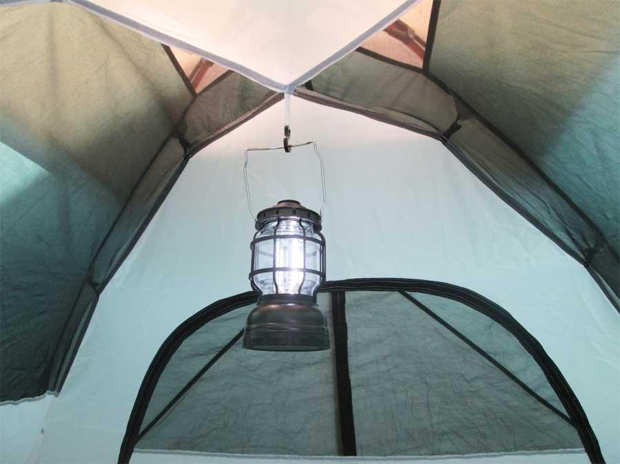 ダイソー 封筒型シュラフ 寝袋 テント6