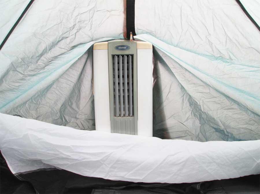 ダイソー 封筒型シュラフ 寝袋 テント7