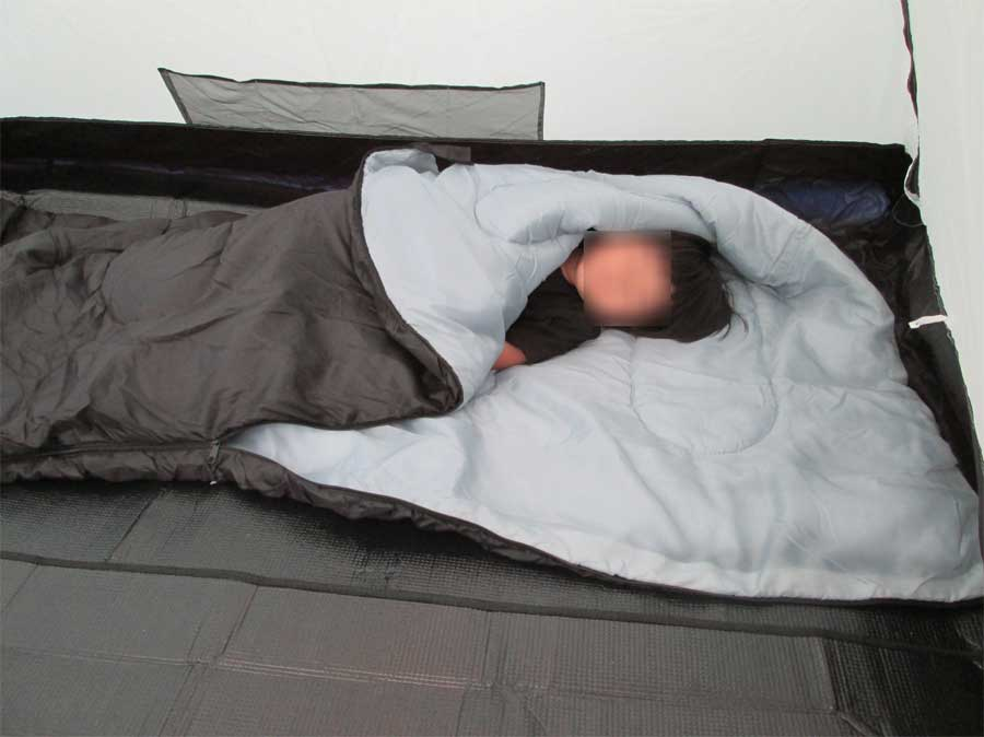 ダイソー 封筒型シュラフ 寝袋 本体21