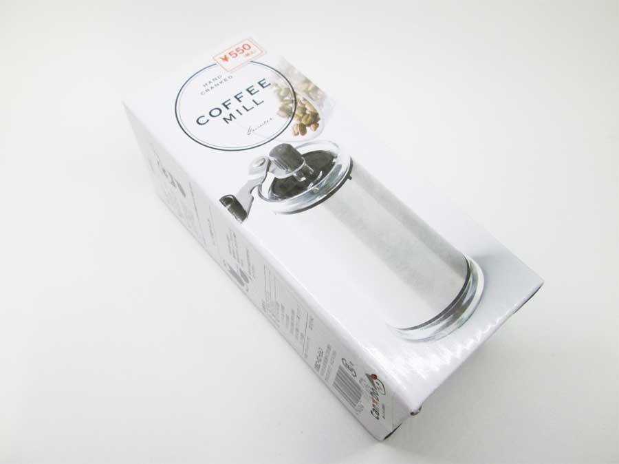 キャンドゥ コーヒーミル パッケージ