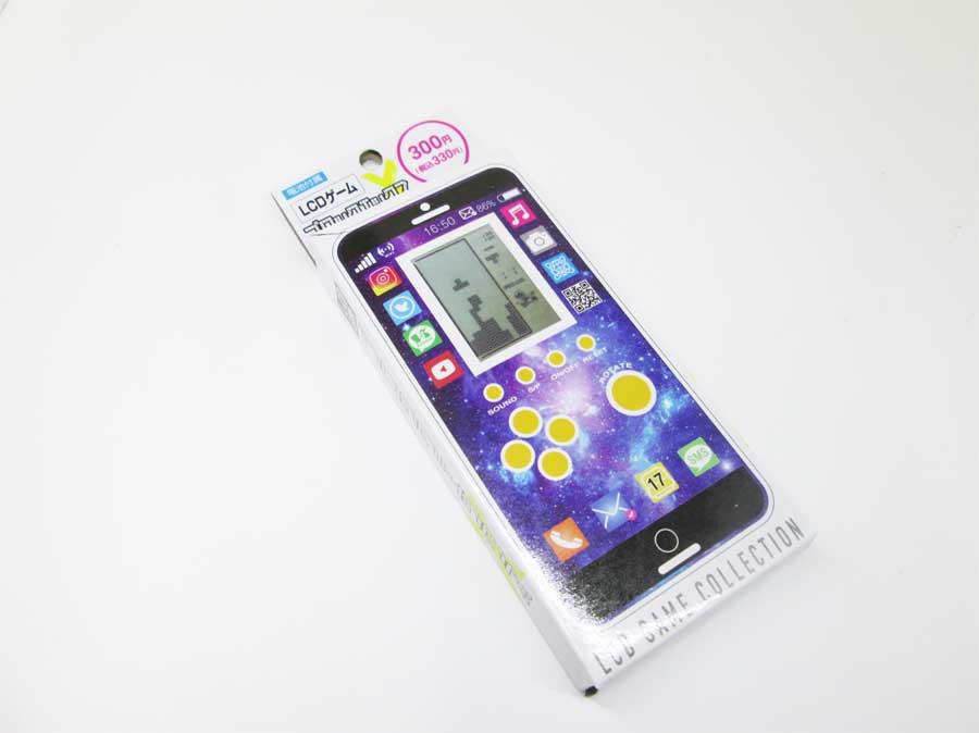 ダイソー LCDゲーム ブロックエックス パッケージ