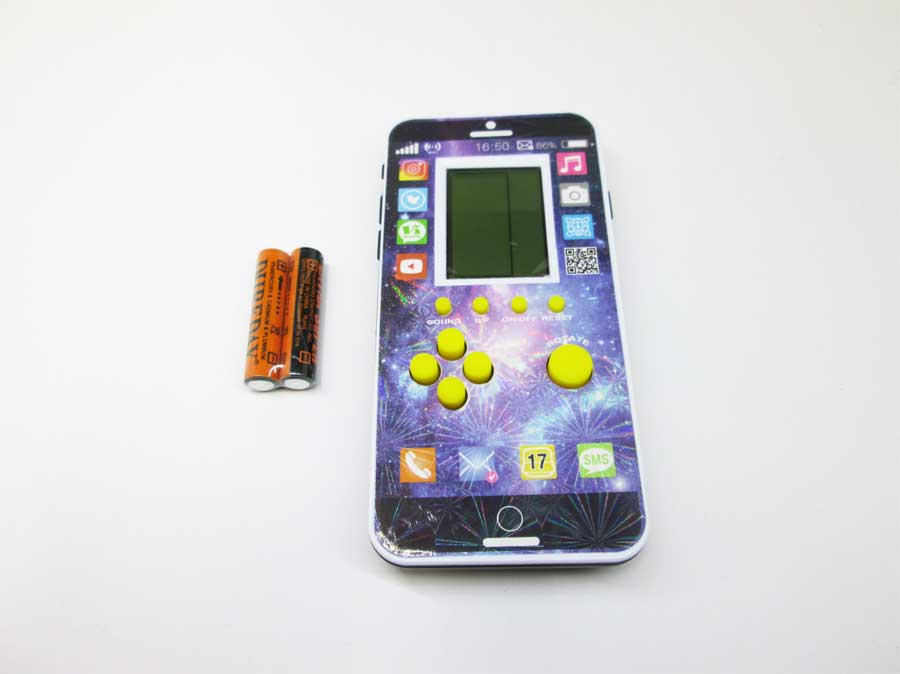 ダイソー LCDゲーム ブロックエックス 本体1