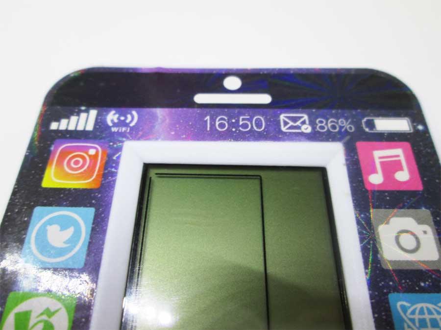 ダイソー LCDゲーム ブロックエックス 本体2