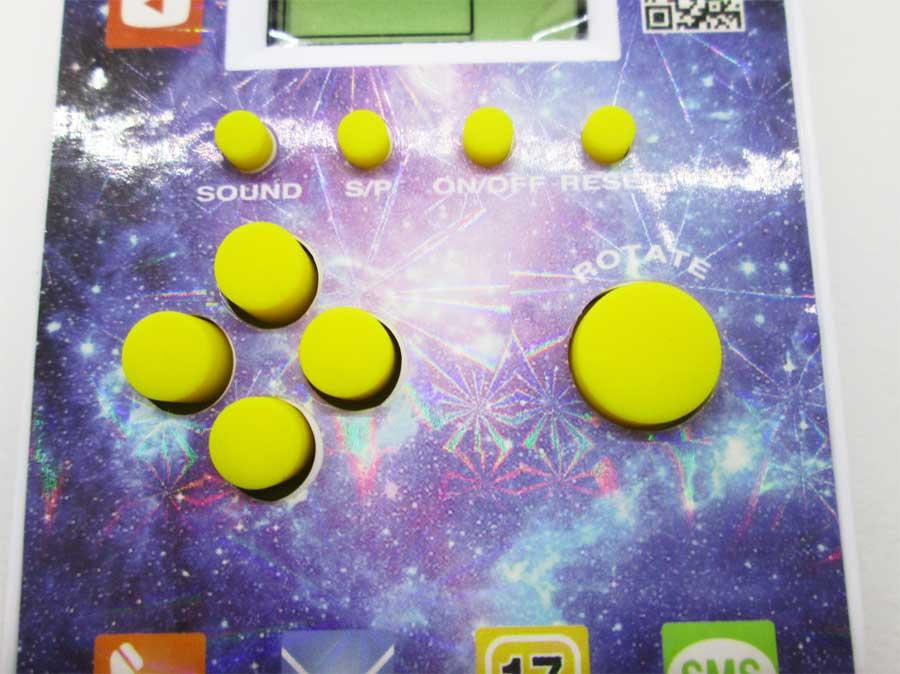 ダイソー LCDゲーム ブロックエックス 本体8