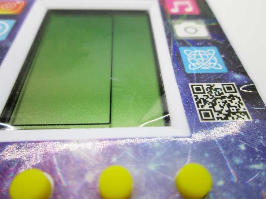 ダイソー LCDゲーム ブロックエックス 本体6