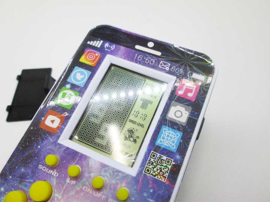 ダイソー LCDゲーム ブロックエックス 本体16