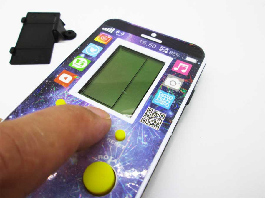 ダイソー LCDゲーム ブロックエックス 本体17