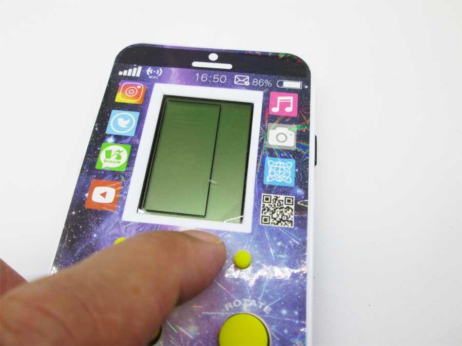 ダイソー LCDゲーム ブロックエックス 本体19