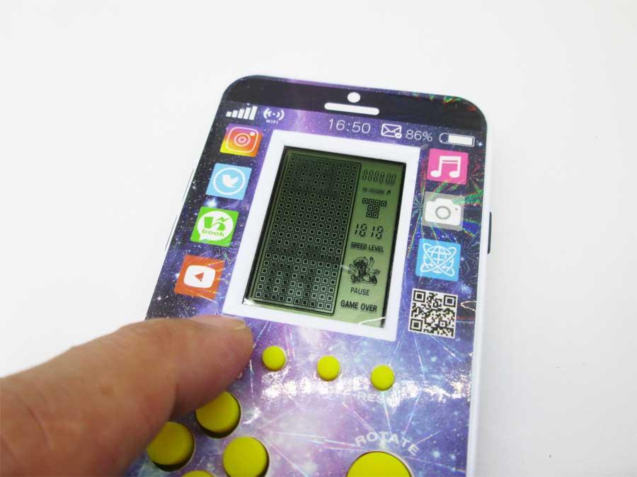 ダイソー LCDゲーム ブロックエックス 本体20