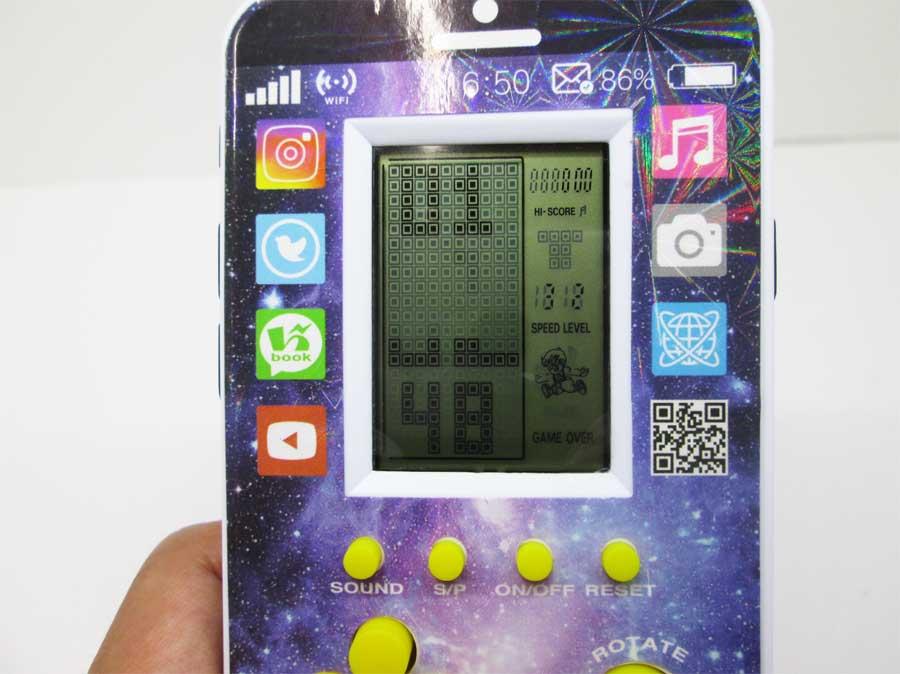 ダイソー LCDゲーム ブロックエックス 本体22