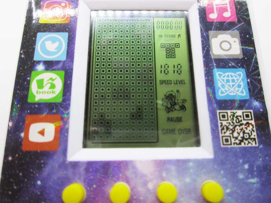 ダイソー LCDゲーム ブロックエックス 本体24