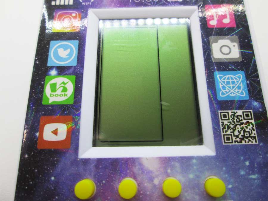 ダイソー LCDゲーム ブロックエックス 本体25