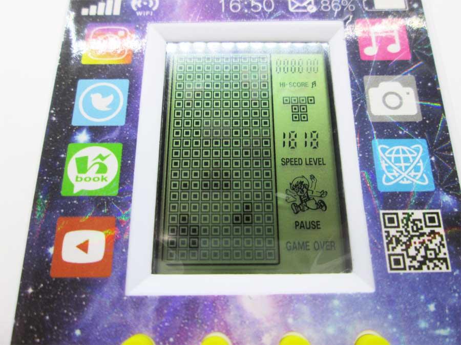 ダイソー LCDゲーム ブロックエックス 本体26