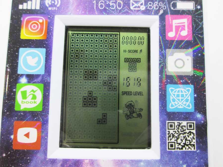 ダイソー LCDゲーム ブロックエックス 本体28