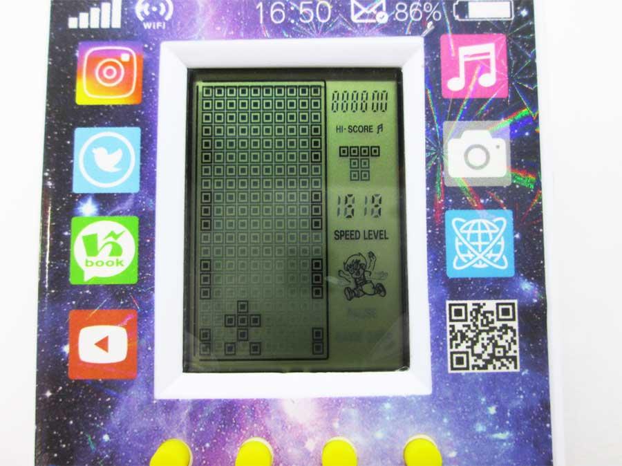 ダイソー LCDゲーム ブロックエックス 本体29