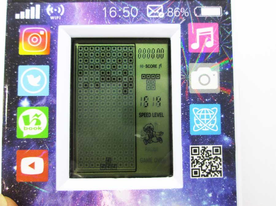 ダイソー LCDゲーム ブロックエックス 本体33
