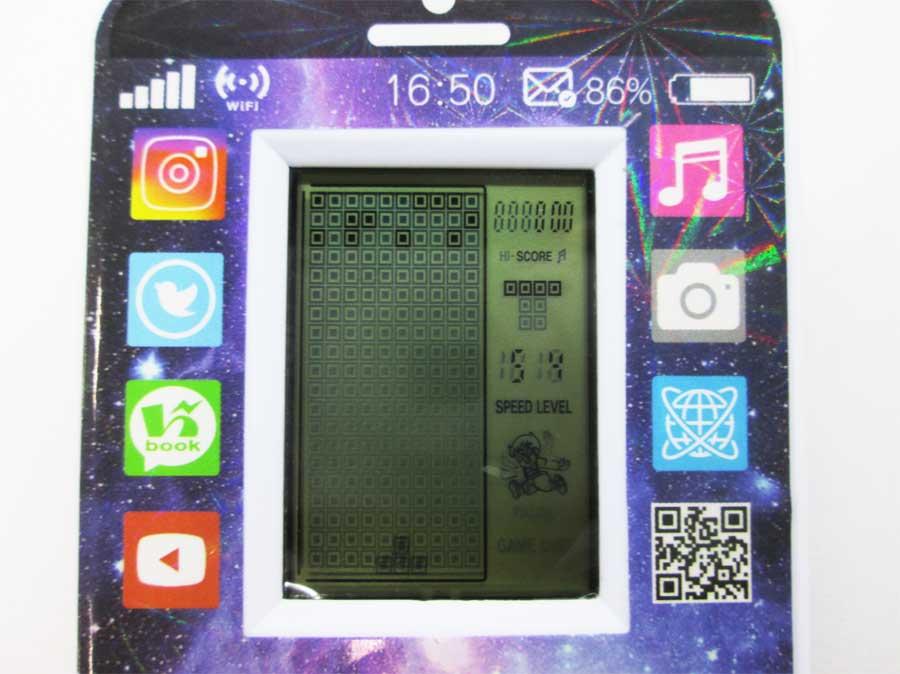 ダイソー LCDゲーム ブロックエックス 本体34