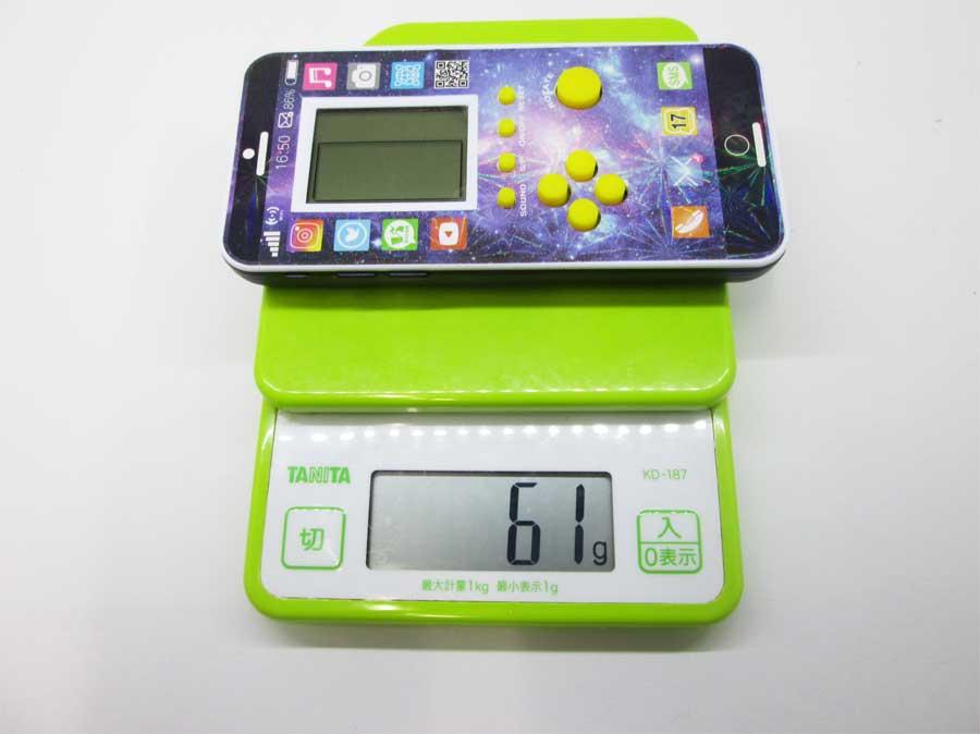 ダイソー LCDゲーム ブロックエックス 重さ